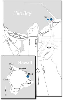 Hilo Harbor Map